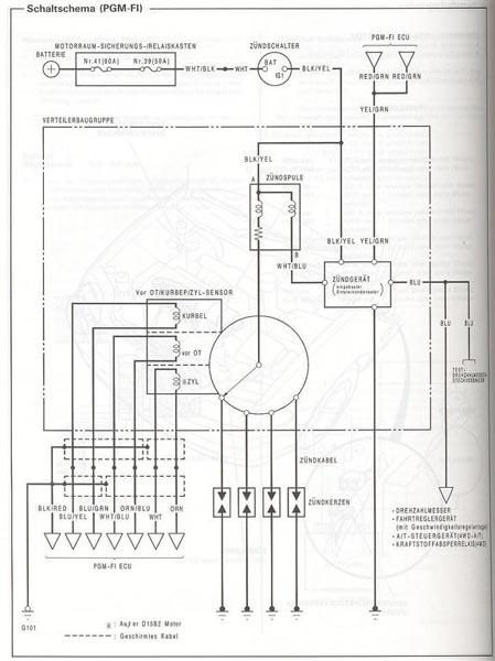 Civic 92-95 Motor] Zündung prüfen und einstellen - Forum: Guides