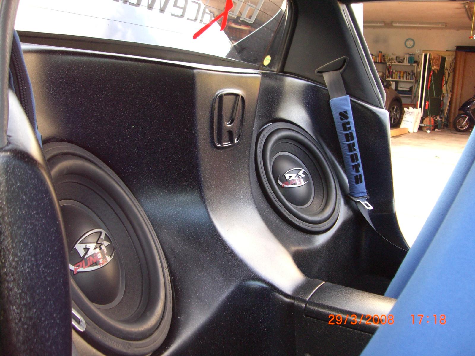 CRX del Sol Subwoofereinbau - Forum: Car Audio, Apps, Bluetooth ...