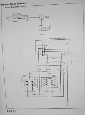 kabelbelegung elektrische spiegel forum civic 92 95. Black Bedroom Furniture Sets. Home Design Ideas