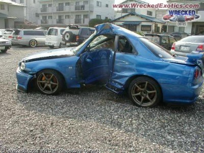 Exotic Car Junkyard Parts