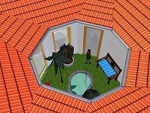 mein haus mit google sketchup bei der statik bin ich. Black Bedroom Furniture Sets. Home Design Ideas