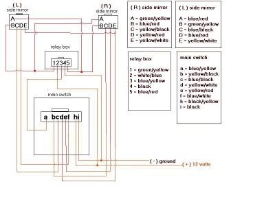 bmw e30 wiring diagram download elektrisch einklappbare spiegel schaltplan und anleitungen  elektrisch einklappbare spiegel schaltplan und anleitungen