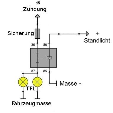 Schön Führte Fahrlicht Schaltplan Fotos - Elektrische ...