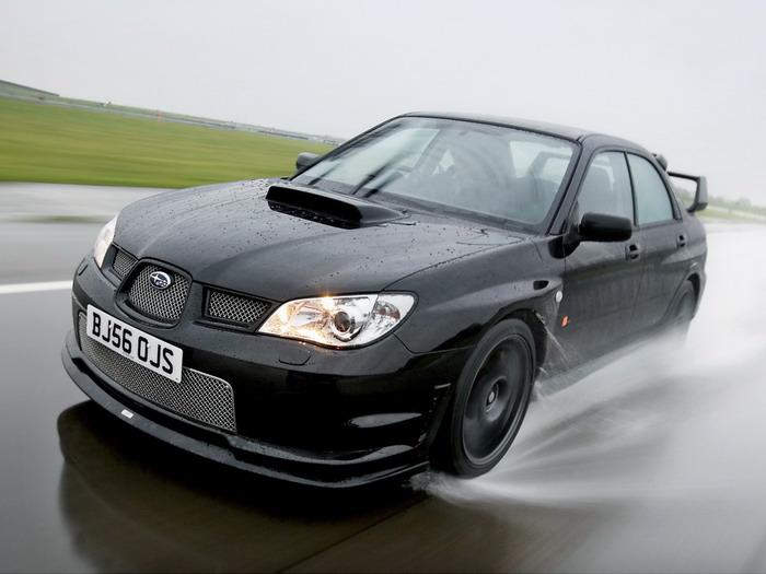 Subaru Impreza 2007 Limited Edition Wrx Sti Rb320 Bild