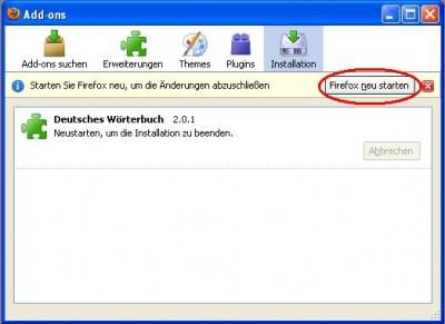 Firefox Neu Starten