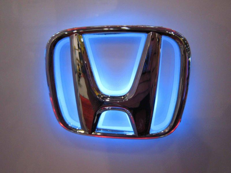 Sb Honda Emblem Hintergrundbeleuchtet Fest Mach Mirn