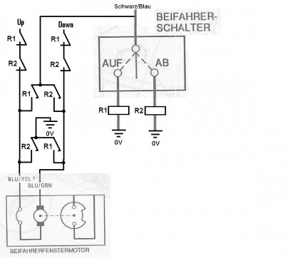 Schalter Fensterheber Tauschen ohne Kabel legen? - Forum: Performance