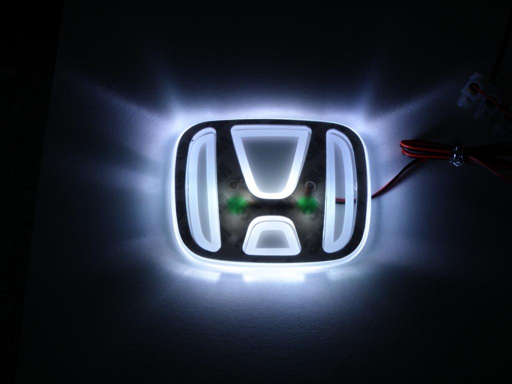 led hondalogo emblem hintergrundbeleuchtet forum flohmarkt