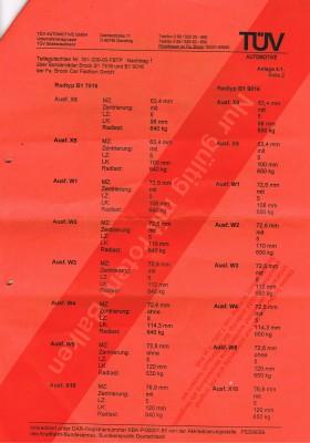 Gutachten brock b1 7,5x16 bis 9x16 alle et forum: abe.