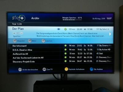 Sky Select Filme