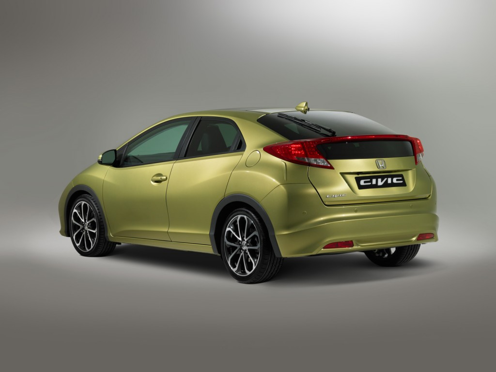 New Honda Civic 2012 Euro Rear View Bild - 73,75 KB - Honda Forum ...