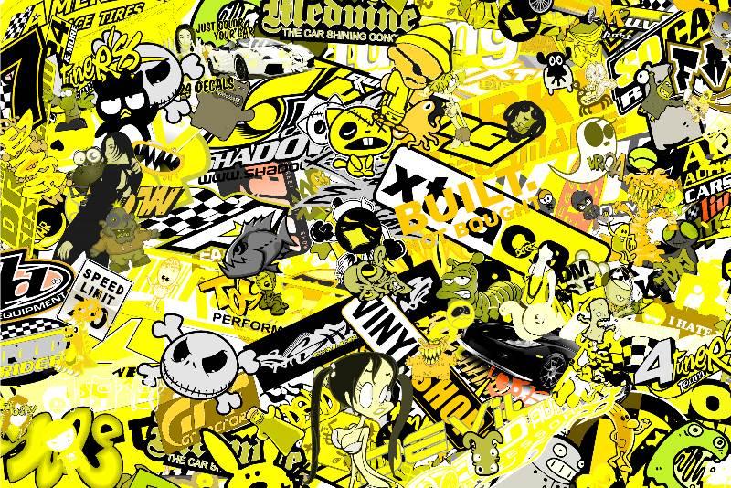 sticker bomb yellow bild 177 01 kb honda forum tuning