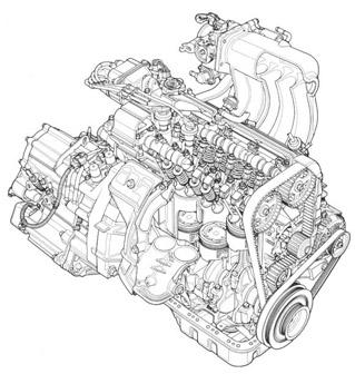 Der Honda Schnittzeichnungen Sammelthreat Kein Spam T302051