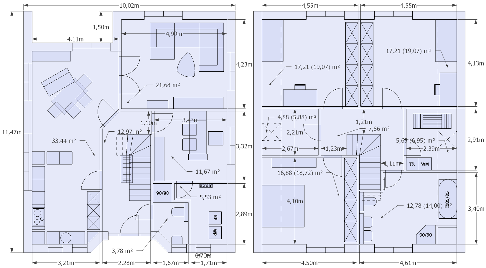 Haus-Grundrisse: Welchen findet Ihr besser? - Ok, aus der raum ... size: 1649 x 912 post ID: 1 File size: 0 B