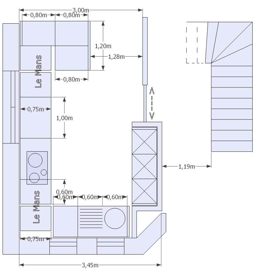 Küchenfenster Tiefer Als Arbeitsplatte ~ küche ohne oberschränke küchen forum