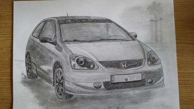 Ich Zeichne euer Auto auf Papier ;) - Forum: Allgemein