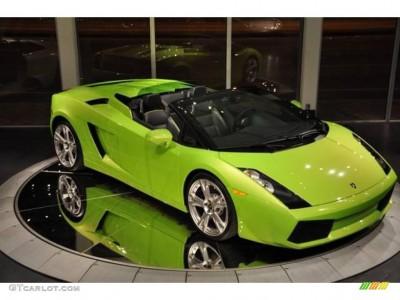 Lamborghini Gallardo Green Paint Code