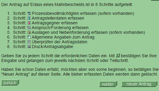 2014 12 15 17 15 22 Online Mahnantrag Ihr Mahnbescheid Antrag Im