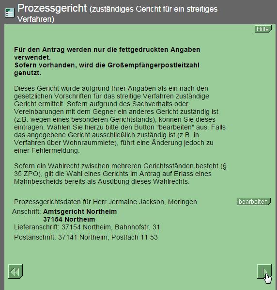 2014 12 15 18 54 24 Online Mahnantrag Ihr Mahnbescheid Antrag Im