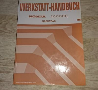 Werkstatthandbuch Nachtrag Honda Civic CRX Accord